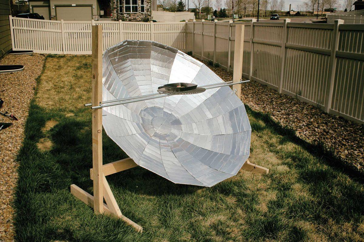 Building Your Own Parabolic Solar Burner